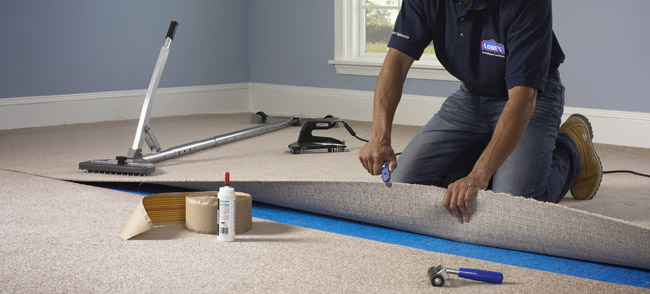 Wall to Wall Carpet Installation